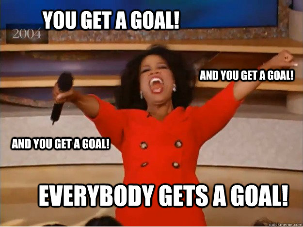 oprah goal setting