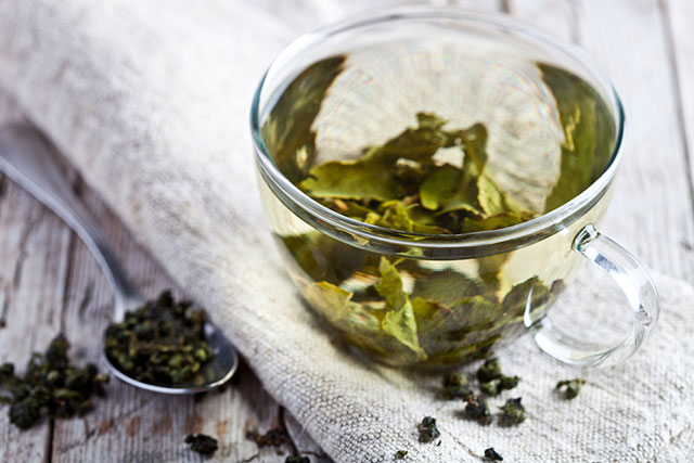 green tea mornings